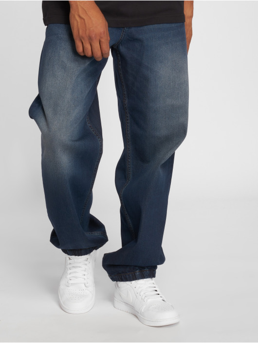 Pelle Pelle Straight Fit Jeans Double blau