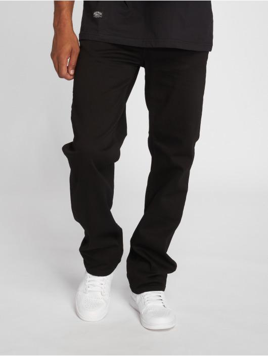 Pelle Pelle Straight Fit Jeans Baxter schwarz