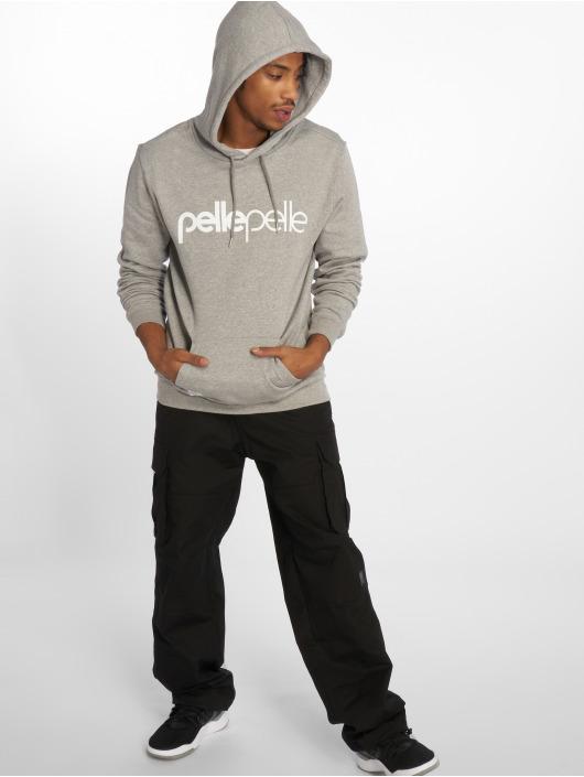 Pelle Pelle Sweat capuche Back 2 The Basics gris