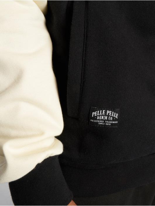 Pelle Pelle Sweat capuche zippé Heritage noir