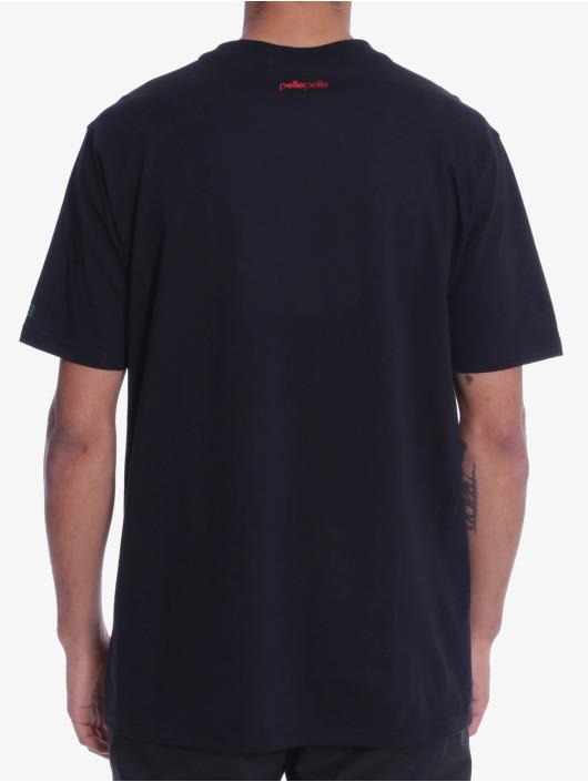 Pelle Pelle T-paidat Finish Line musta