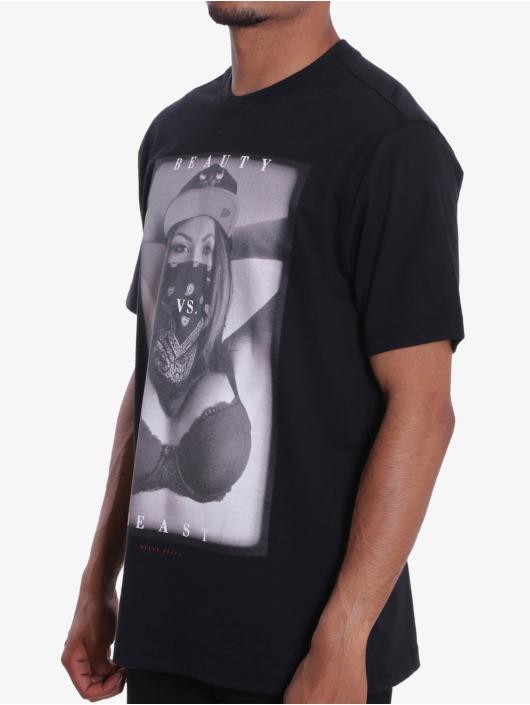 Pelle Pelle T-Shirt Beauty Vs. Beast black