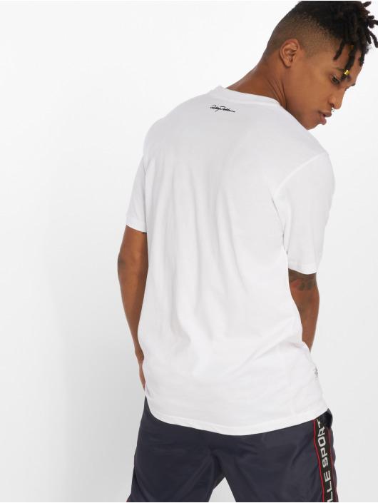 Pelle Pelle T-Shirt Signature Zig Zag blanc