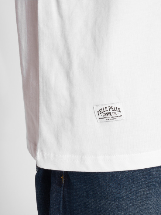 Pelle Pelle T-Shirt Anaconda blanc