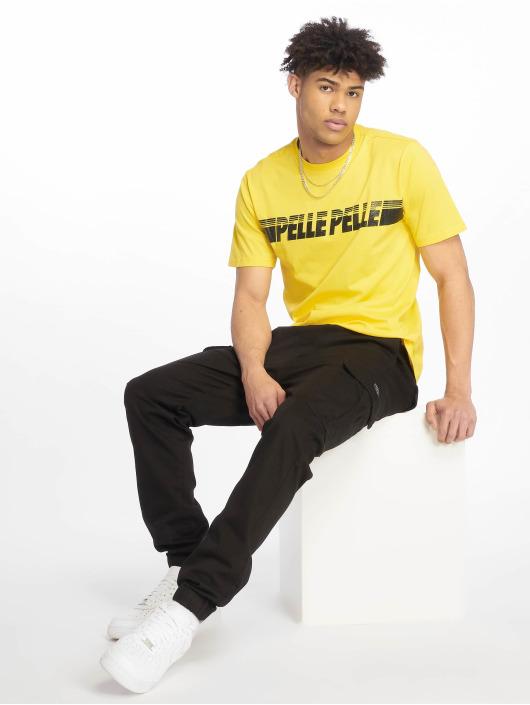 Pelle Pelle T-Shirt Sayagata Fast jaune