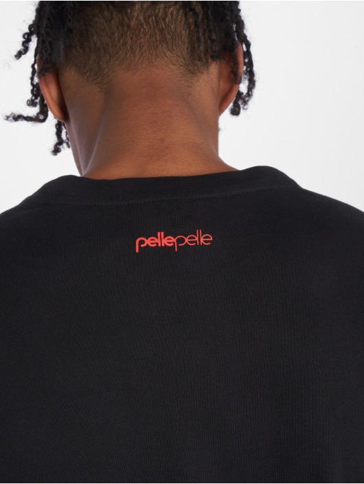 Pelle Pelle T-Shirt manches longues Sayagata Fast noir