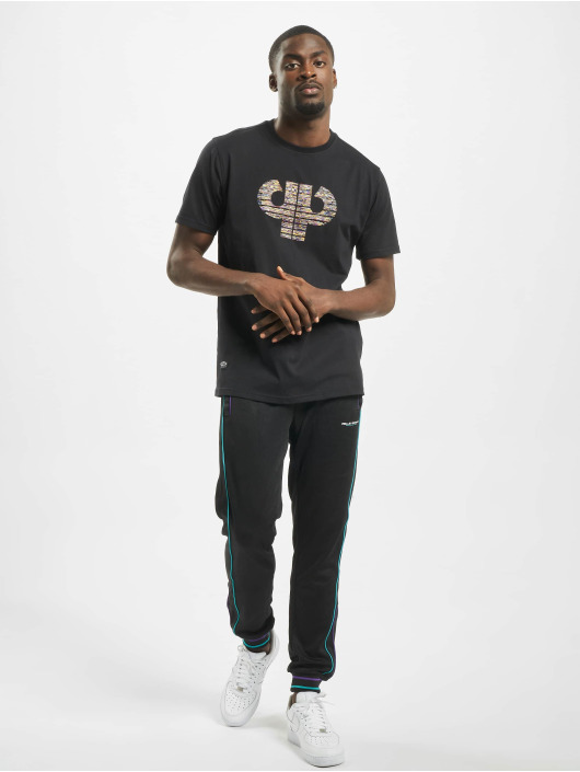 Pelle Pelle T-shirt Colorblind Icon nero