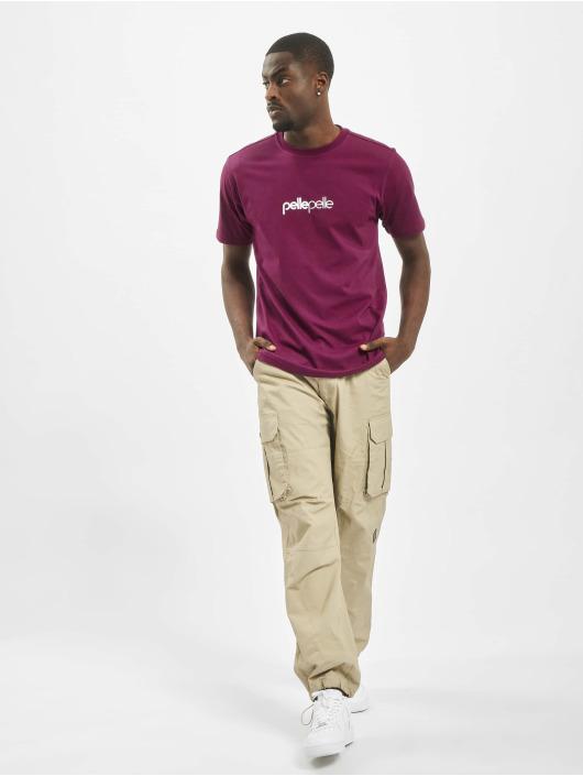 Pelle Pelle T-Shirt Core Portate pourpre