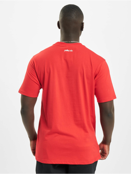 Pelle Pelle T-shirt Beauty Vs. Beast rosso