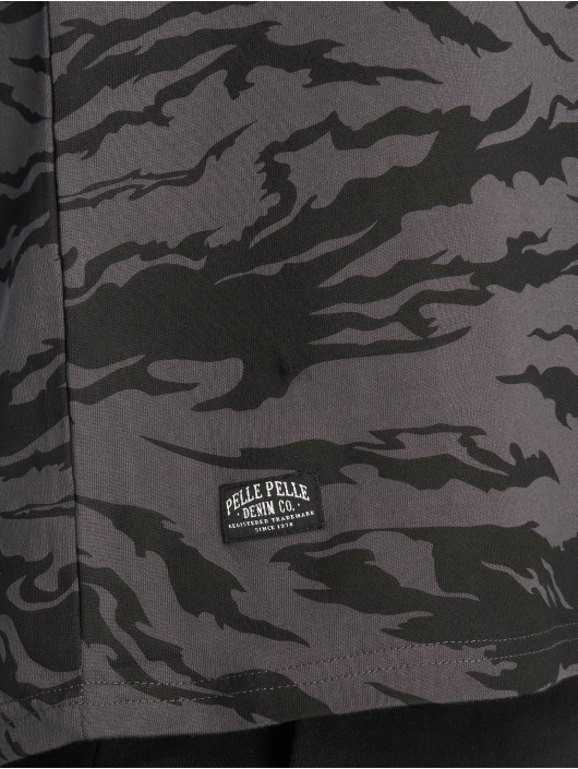 Pelle Pelle T-Shirt Jungle Tactics schwarz