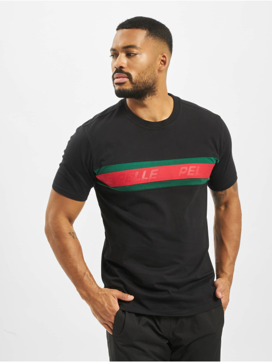 Pelle Pelle T-Shirt Front 2 Back schwarz