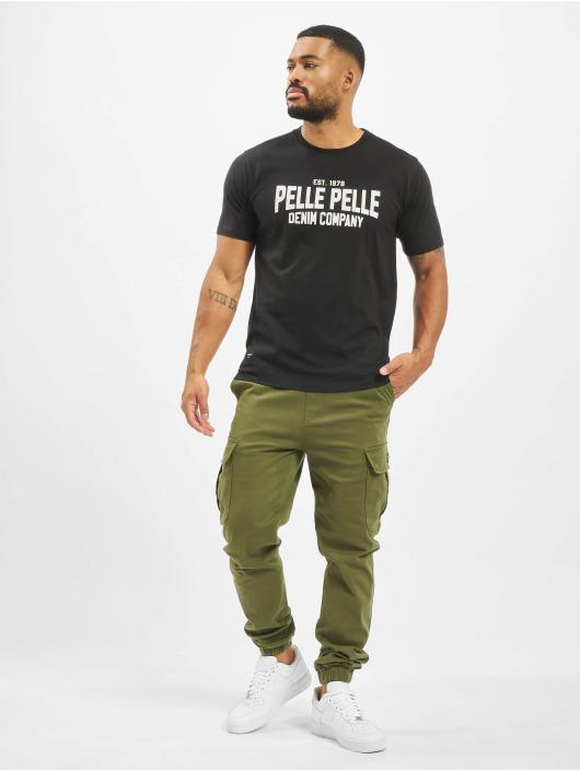 Pelle Pelle T-Shirt Freshman schwarz