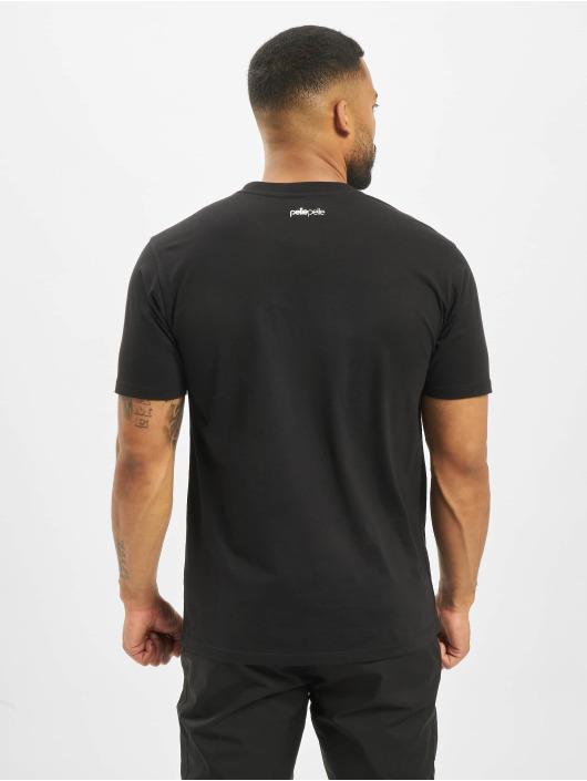 Pelle Pelle T-Shirt Confusion Logo schwarz