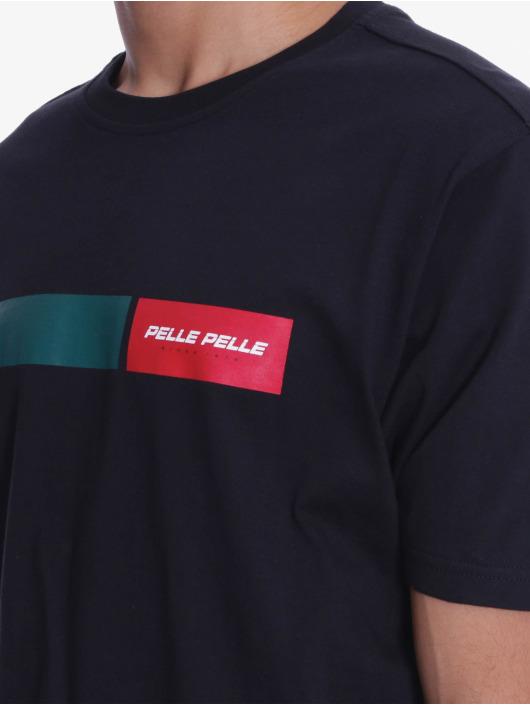 Pelle Pelle T-Shirt Finish Line schwarz