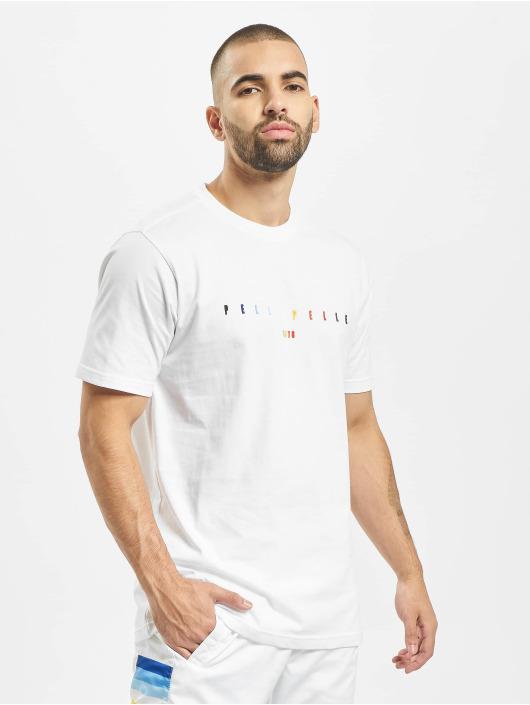 Pelle Pelle T-shirt Colorblind vit