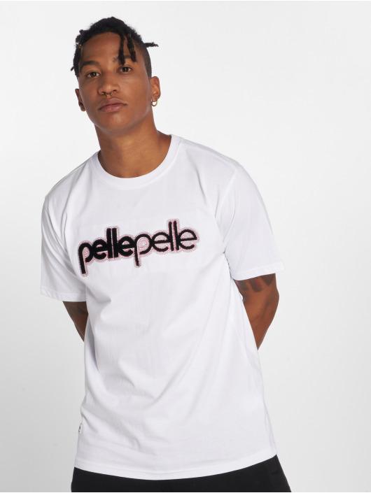5068510215b Pelle Pelle bovenstuk   t-shirt Corporate Brush in wit 541602