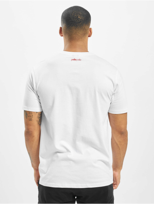 Pelle Pelle t-shirt Corporate Dots wit