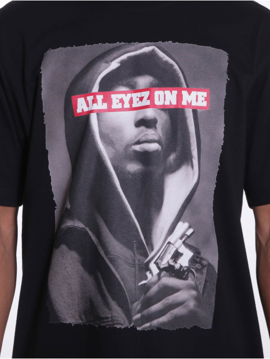 Pelle Pelle t-shirt All Eyes On Me zwart