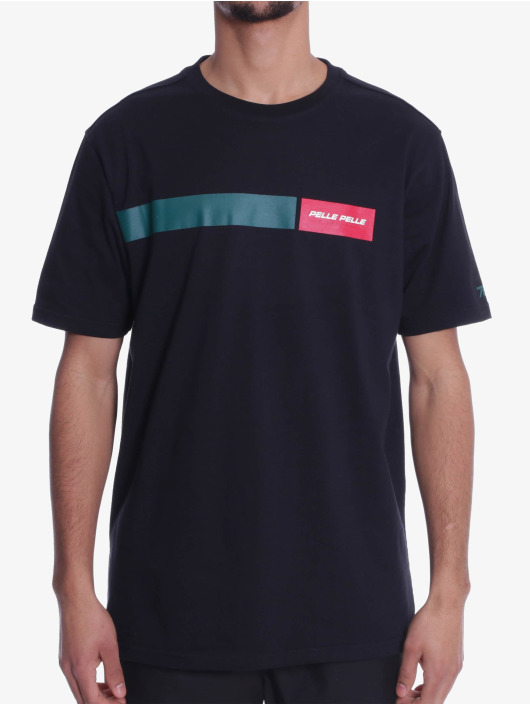 Pelle Pelle t-shirt Finish Line zwart