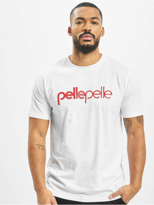 Pelle Pelle T-shirts Corporate Dots hvid