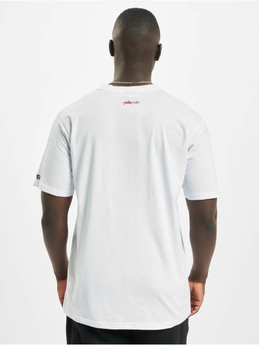 Pelle Pelle T-shirts Finish Line hvid