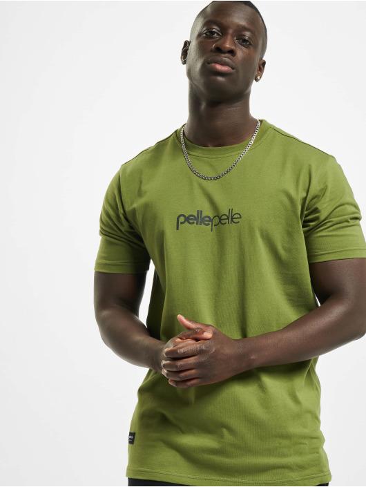 Pelle Pelle T-shirts Core-Porate oliven