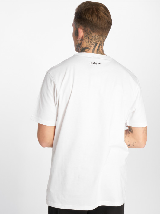 Pelle Pelle T-Shirty Back 2 The Basics bialy