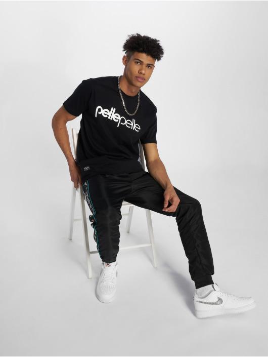 Pelle Pelle T-Shirty Back 2 The Basics czarny