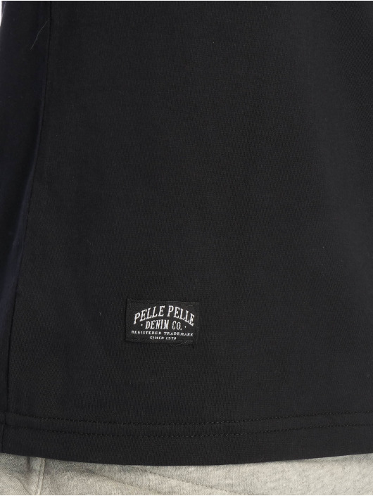 Pelle Pelle T-Shirty Double Take czarny