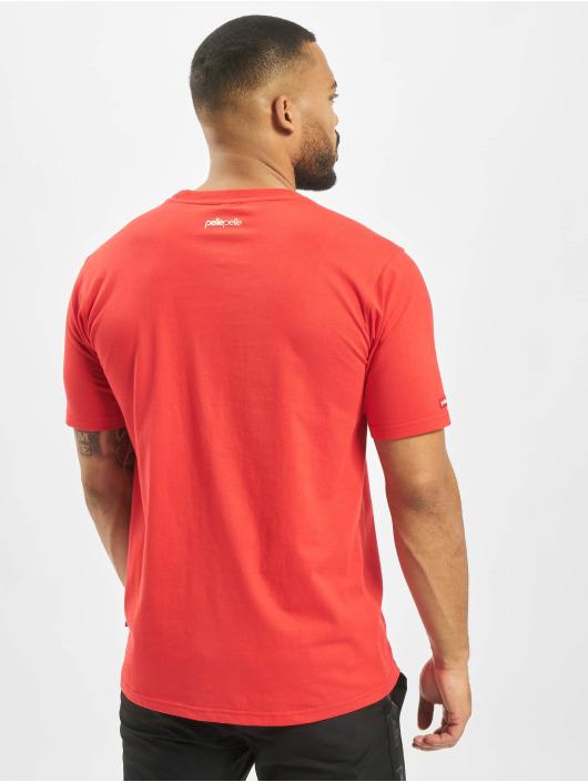 Pelle Pelle T-Shirty Hologram PP czerwony