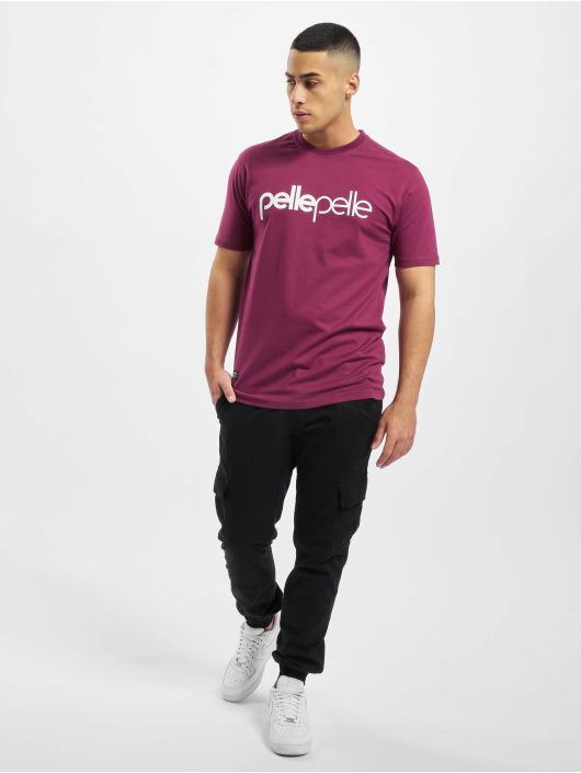 Pelle Pelle T-Shirty Back 2 The Basics czerwony