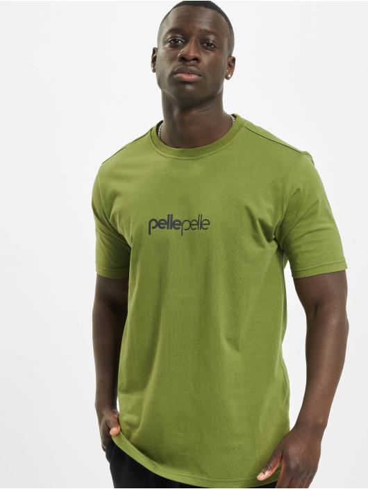 Pelle Pelle T-Shirty Core-Porate oliwkowy