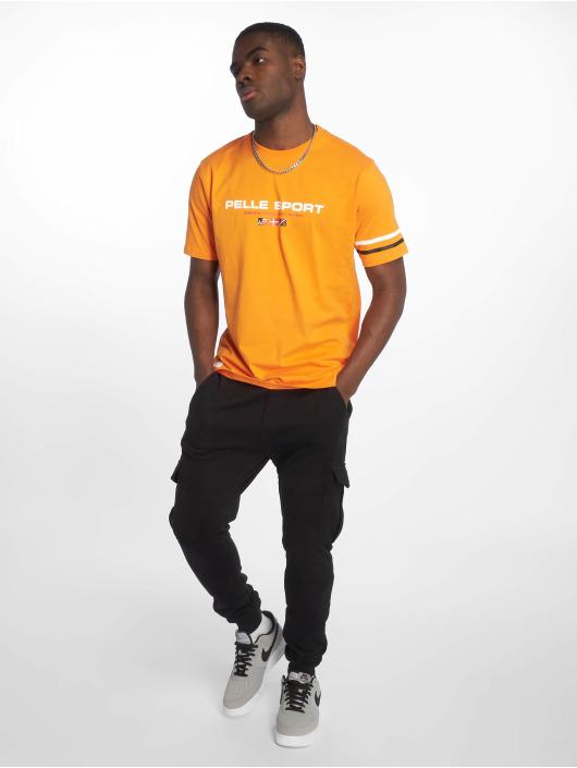 Pelle Pelle T-Shirty No Competition pomaranczowy