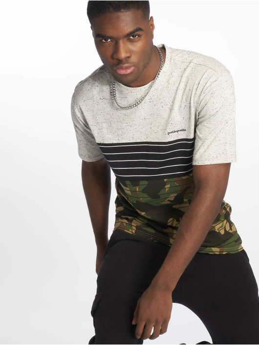 Pelle Pelle T-skjorter Camo grå