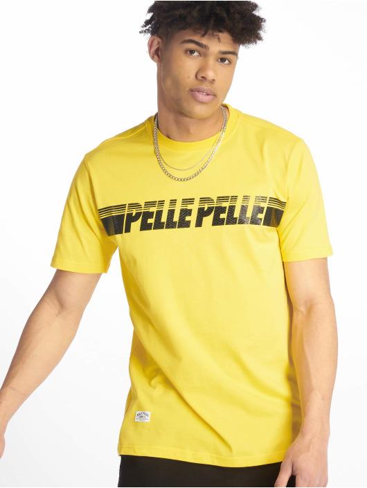 Pelle Pelle T-skjorter Sayagata Fast gul