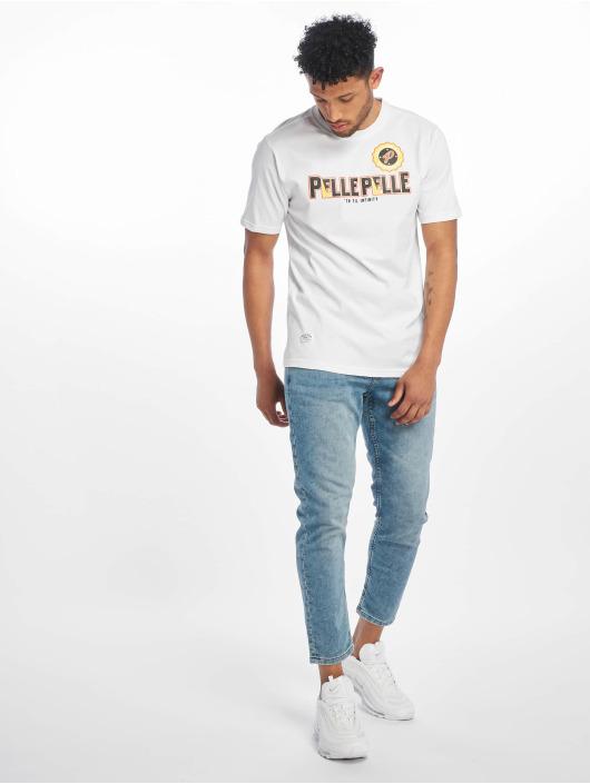 Pelle Pelle T-skjorter Infinity Solid hvit