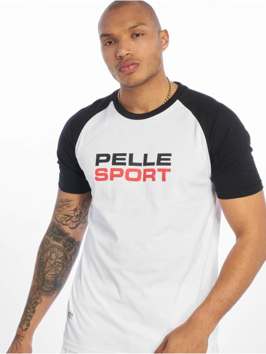 Pelle Pelle T-skjorter Vintage Sports hvit