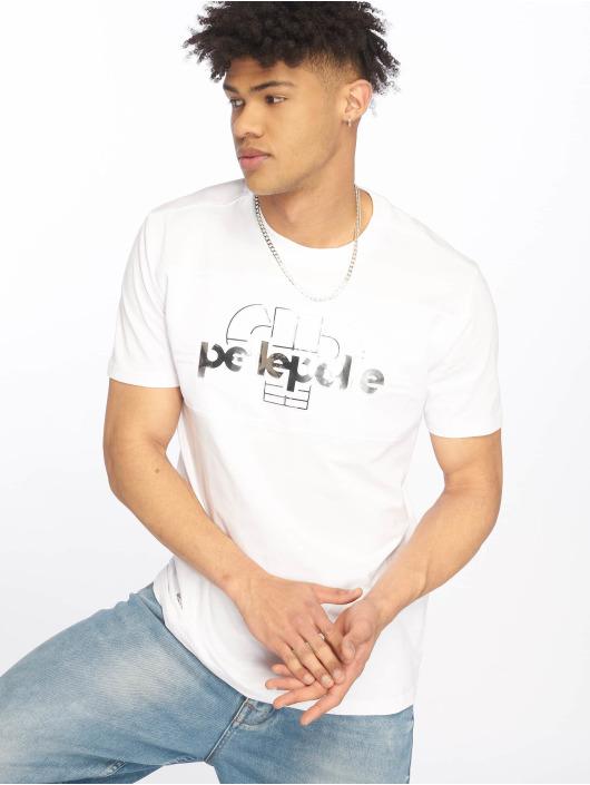 Pelle Pelle T-skjorter Raise It Up hvit