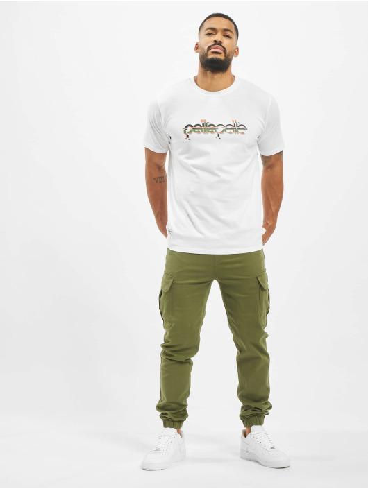 Pelle Pelle T-skjorter Confusion Logo hvit