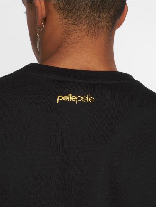 Pelle Pelle T-skjorter Rip Big svart
