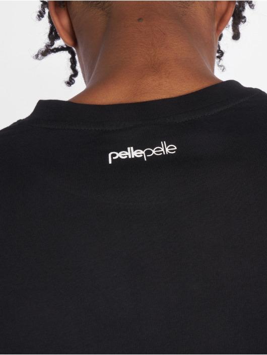 Pelle Pelle T-skjorter Ebonics svart