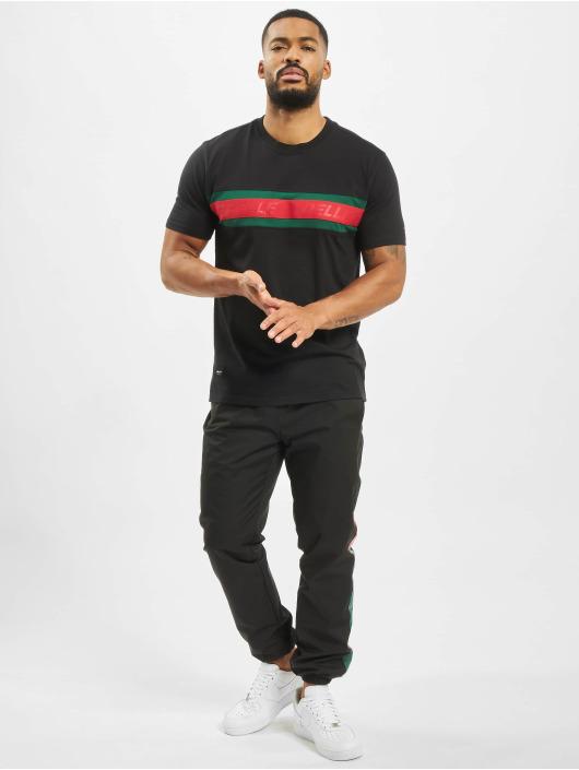 Pelle Pelle T-skjorter Front 2 Back svart