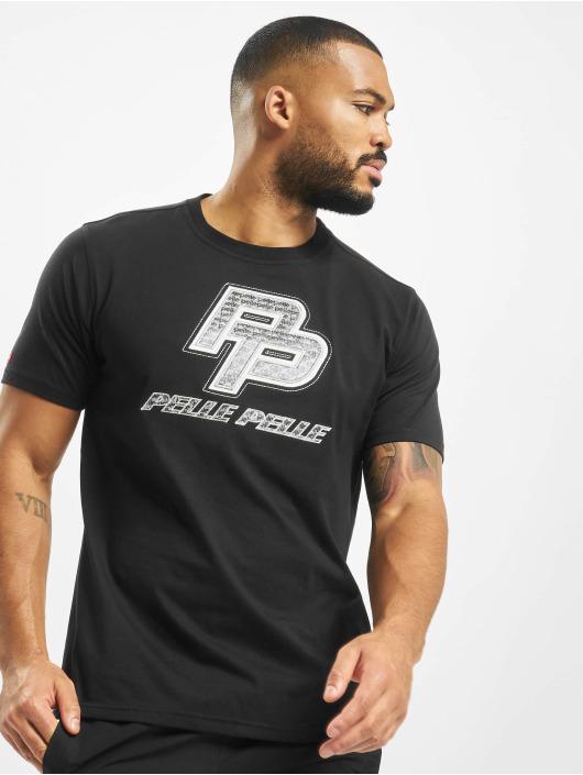 Pelle Pelle T-skjorter Hologram PP svart