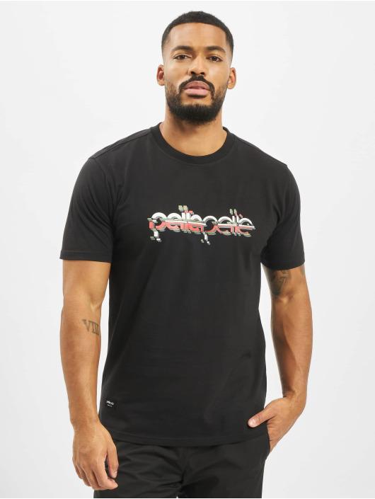 Pelle Pelle T-skjorter Confusion Logo svart