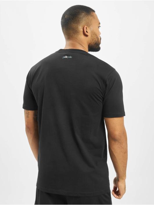 Pelle Pelle T-skjorter Space Icon svart