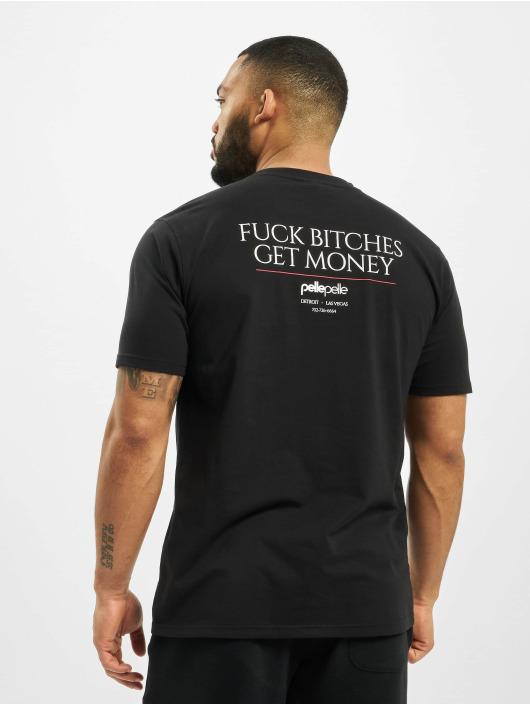 Pelle Pelle Tričká Get Money èierna