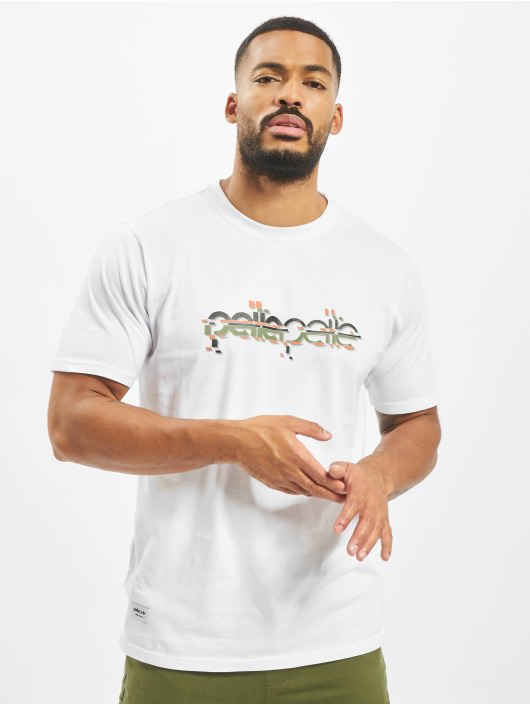Pelle Pelle Tričká Confusion Logo biela