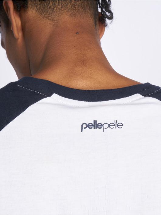 Pelle Pelle Tričká dlhý rukáv Core Ringer modrá