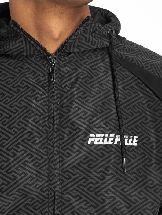 Pelle Pelle Übergangsjacke Underground Hooded schwarz