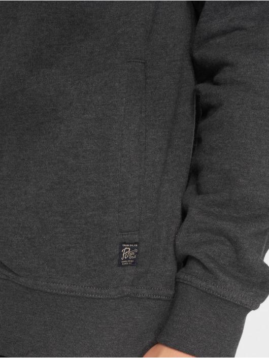 Petrol Industries Cardigan Hooded gray
